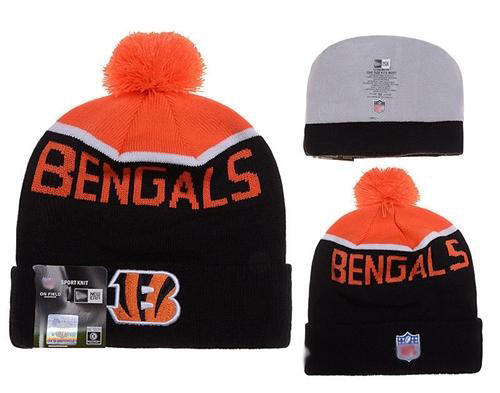 Football Cincinnati Bengals Stitched Knit Beanies 014
